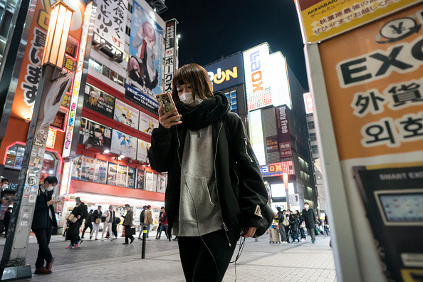 Smart Phone「Concern In Japan As The Wuhan Covid-19 Spreads」:写真・画像(18)[壁紙.com]