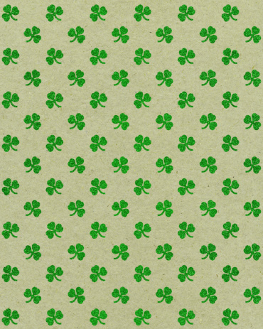 Regency Style「paper with glitter clover pattern」:スマホ壁紙(12)