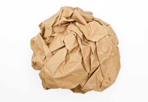 Writing「Crumpled paper ball」:スマホ壁紙(11)