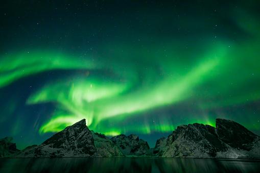 Geomagnetic Storm「Colorful Aurora Borealis」:スマホ壁紙(15)