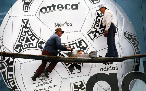 Mexico「Painting Adidas Tango Football mural Mexico 86'」:写真・画像(2)[壁紙.com]