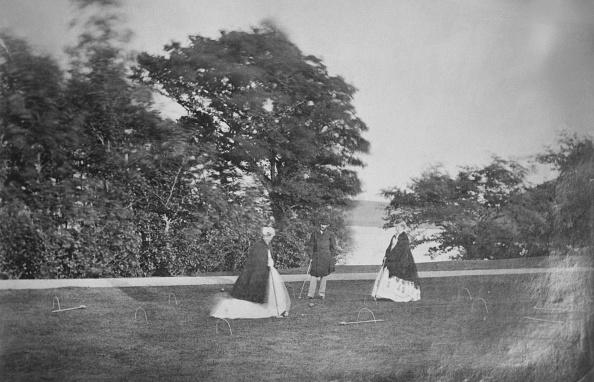 1900「Croquet On The Lawn」:写真・画像(7)[壁紙.com]