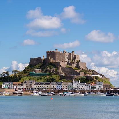 Jersey - England「Gorey Castle, Jersey」:スマホ壁紙(8)