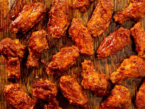 Appetizer「BBQ Sauce Chicken Wings」:スマホ壁紙(19)