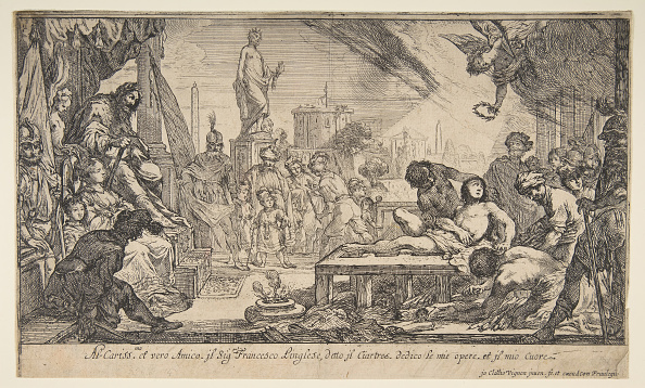 Etching「The Martyrdom Of St Lawrence」:写真・画像(17)[壁紙.com]