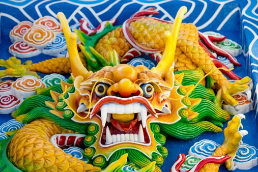 Indigenous Culture「Asian temple dragon」:スマホ壁紙(8)
