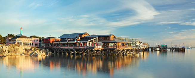 Monterey Peninsula「Fisherman's Wharf - Monterey」:スマホ壁紙(8)
