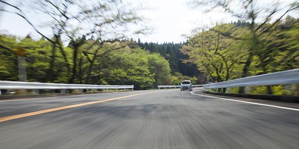 Mountain Road「Driving on mountain road」:スマホ壁紙(14)