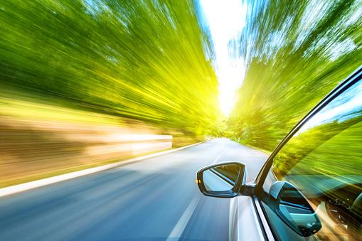 Curve「Driving on the road」:スマホ壁紙(13)