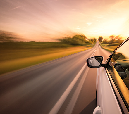 Motor Vehicle「Driving on the road」:スマホ壁紙(8)