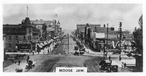 Moose Jaw「Moose Jaw, Saskatchewan, Canada, c1920s.」:写真・画像(2)[壁紙.com]