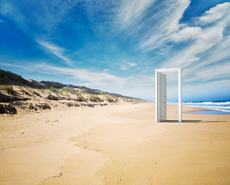 Open「Open door beach concept」:スマホ壁紙(11)