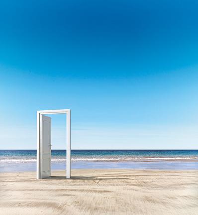 Beginnings「Open door beach concept」:スマホ壁紙(4)