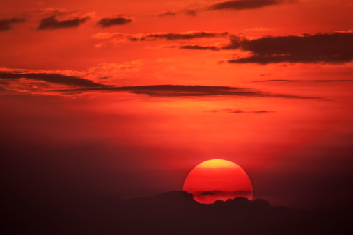 Masai Mara National Reserve「Sunset, Maasai Mara, Kenya, Africa」:スマホ壁紙(17)