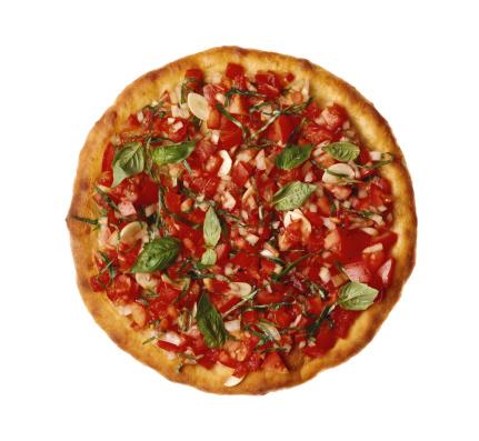 Onion「Pizza with fresh tomato , onion , and basil」:スマホ壁紙(17)