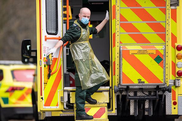 イギリス「UK On Lockdown Due To Coronavirus Pandemic」:写真・画像(11)[壁紙.com]