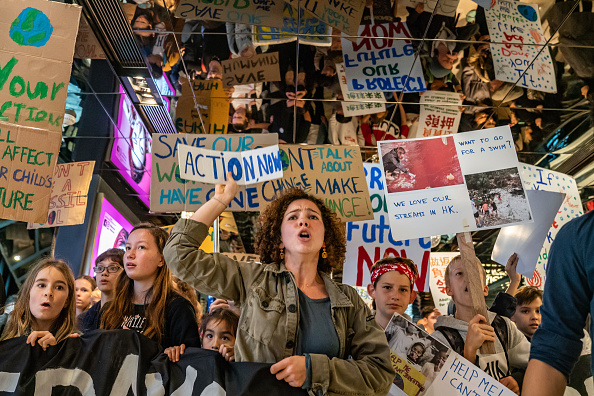 Environment「Students Strike In Hong Kong To Raise Climate Change Awareness」:写真・画像(5)[壁紙.com]
