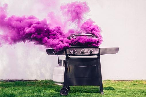 Burnt「Smoking Barbecue」:スマホ壁紙(1)