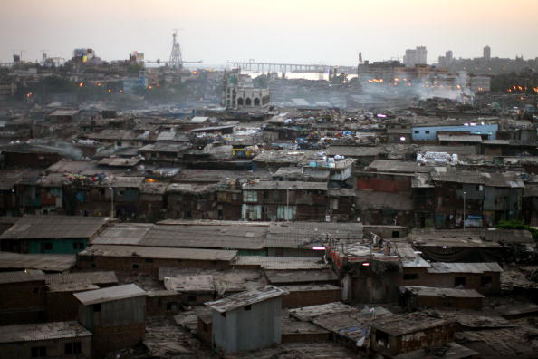 General View「Dharavi Slum Redevelopment Resisted By Residents」:写真・画像(17)[壁紙.com]
