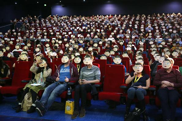 Film and Television Screening「'Frank' Screening - Sundance London Film And Music Festival 2014」:写真・画像(1)[壁紙.com]