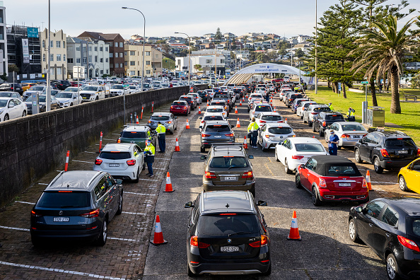 Sydney「New South Wales Extends Covid-19 Restrictions As Cases Continue To Emerge」:写真・画像(0)[壁紙.com]