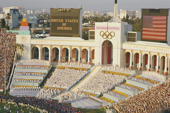 Stadium「XXIII Olympic Summer Games」:写真・画像(10)[壁紙.com]