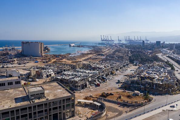 Exploding「Countless Beirut Landmarks Damaged By Port Explosion」:写真・画像(2)[壁紙.com]