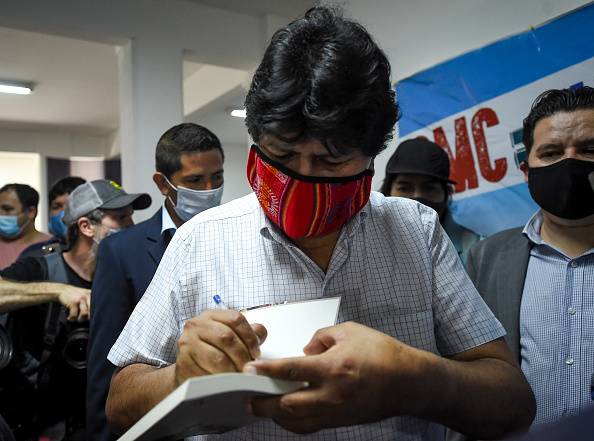 Effort「Bolivians Vote in Buenos Aires」:写真・画像(15)[壁紙.com]