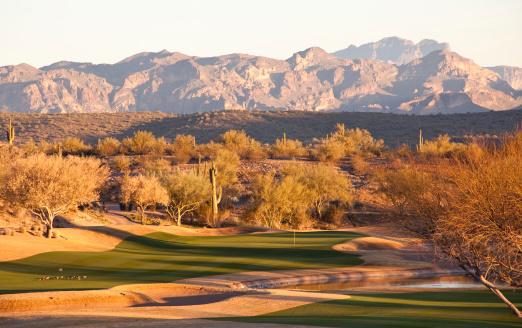 Sand Trap「Beautiful Desert Golf Course」:スマホ壁紙(0)