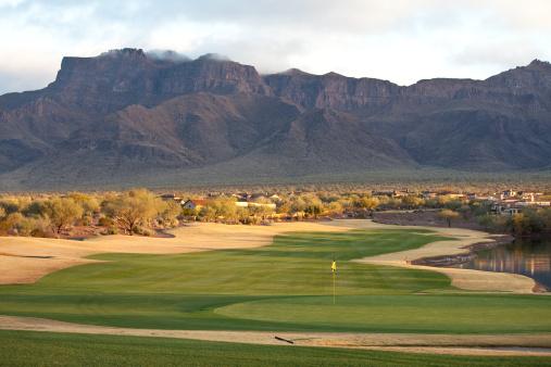 Sand Trap「Beautiful Desert Golf Course」:スマホ壁紙(12)