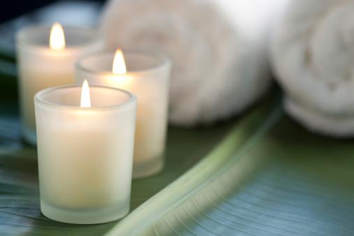 Zen-like「Candles at the spa」:スマホ壁紙(14)