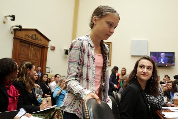 Climate Activist「Climate Activist Greta Thunberg Visits Capitol Hill To Speak To Lawmakers」:写真・画像(6)[壁紙.com]