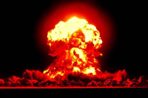 Bomb「Nuclear Explosion」:スマホ壁紙(8)