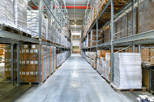 Shipping「High rack warehouse」:スマホ壁紙(19)