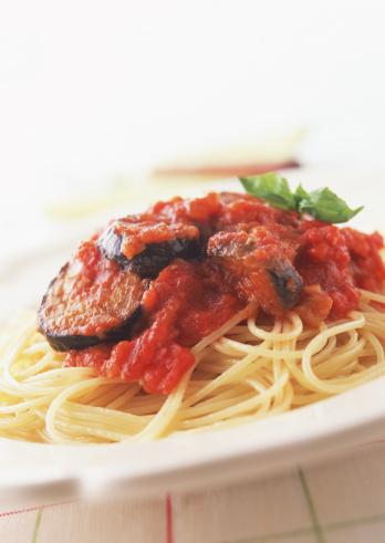Tomato Sauce「Spaghetti of Eggplant and Tomato」:スマホ壁紙(18)