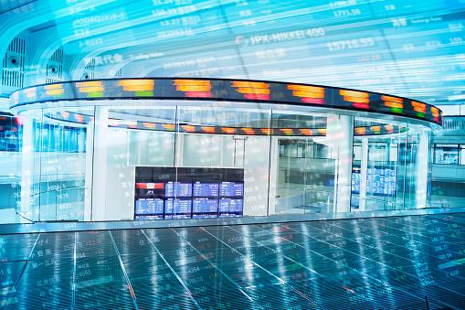 Tokyo - Japan「Multi layered, Tokyo Stock Exchange」:スマホ壁紙(9)