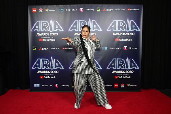 White Shoe「2020 ARIA Awards - Media Wall」:写真・画像(10)[壁紙.com]