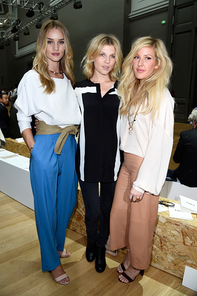 Rosie Huntington-Whiteley「Chloe : Front Row - Paris Fashion Week Womenswear Spring/Summer 2015」:写真・画像(5)[壁紙.com]