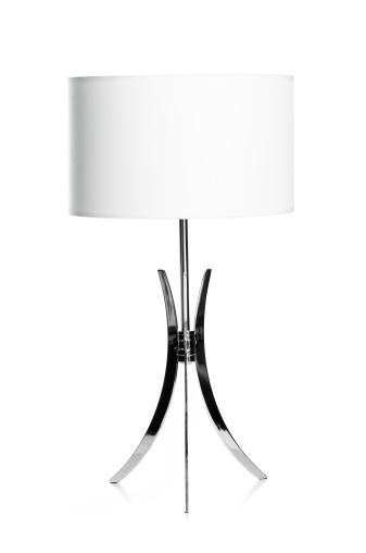 Postmodern「White and chrome lamp」:スマホ壁紙(4)