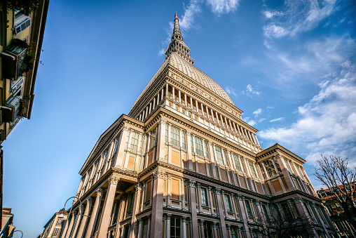 Piedmont - Italy「Mole Antonelliana Building in Turin, Italy」:スマホ壁紙(16)