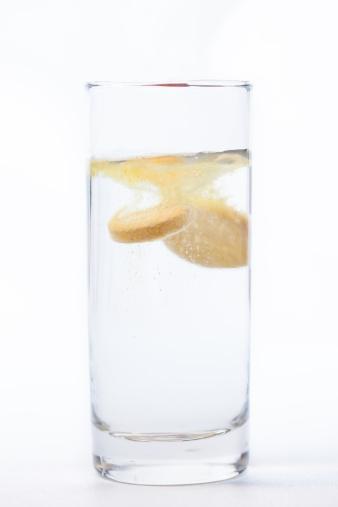 Deterioration「Vitamin tablet dissolving in water」:スマホ壁紙(8)