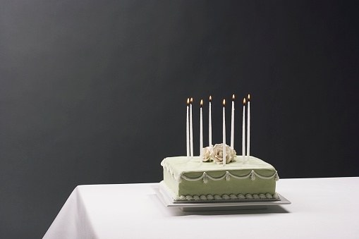 Close To「Birthday cake with candles」:スマホ壁紙(8)