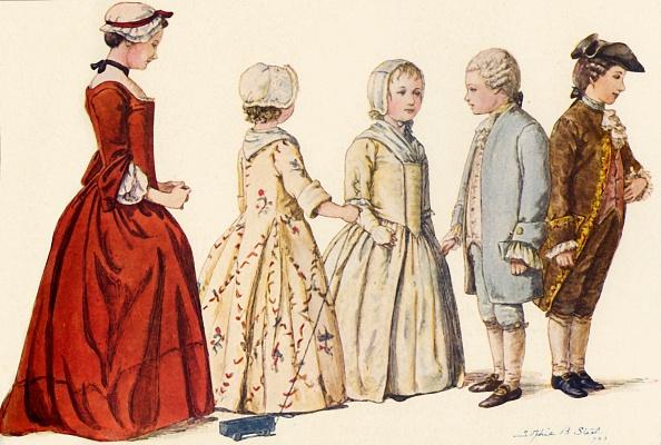 White Background「Childrens Attire During  Reigns Of Queen Anne」:写真・画像(14)[壁紙.com]