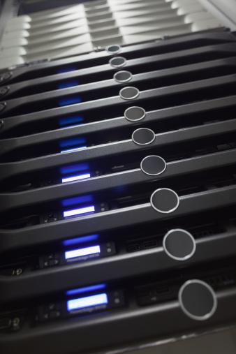 Data Center「Tower servers」:スマホ壁紙(6)