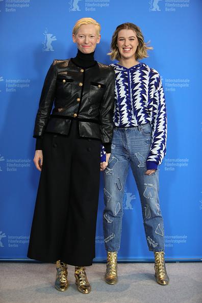"Appliqué「""The Souvenir"" Photocall - 69th Berlinale International Film Festival」:写真・画像(0)[壁紙.com]"