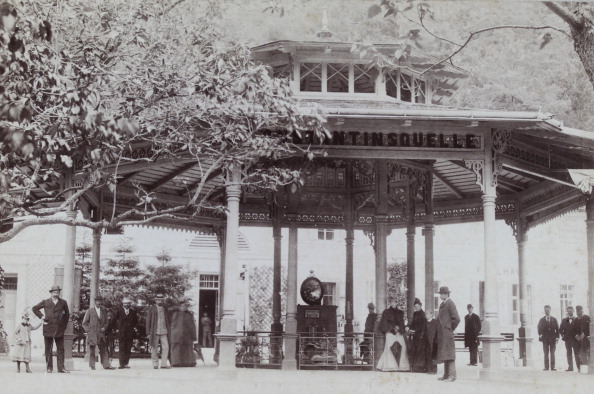 Spa「Gleichenberg: Konstantin Source. About 1880. Photograph By Atelier Betty / Gleichenberg. Photograph.」:写真・画像(1)[壁紙.com]