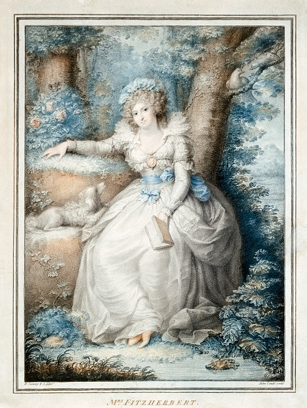 Regency Style「Maria Fitzherbert」:写真・画像(12)[壁紙.com]