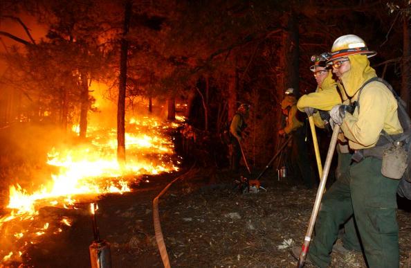 Aspen Tree「Firefighters Work To Control Arizona Blaze」:写真・画像(10)[壁紙.com]