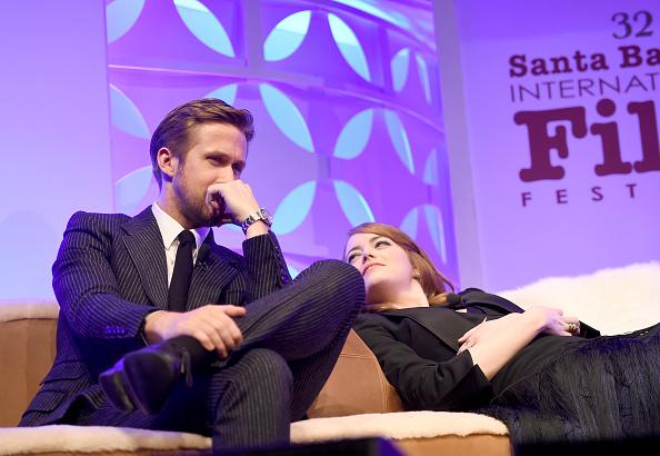 Santa Barbara International Film Festival「The 32nd Santa Barbara International Film Festival - Outstanding Performers: Ryan Gosling and Emma Stone Presented by Belvedere」:写真・画像(17)[壁紙.com]