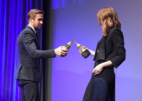Santa Barbara International Film Festival「The 32nd Santa Barbara International Film Festival - Outstanding Performers: Ryan Gosling and Emma Stone Presented by Belvedere」:写真・画像(18)[壁紙.com]